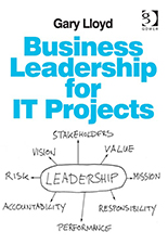 Business Leadership for IT Projects book cover