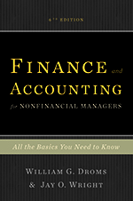 Finance and Accounting for Nonfinancial Managers book cover