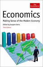 The Economist: Economics book cover