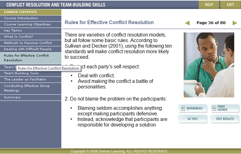 essay on conflict resolution in nursing