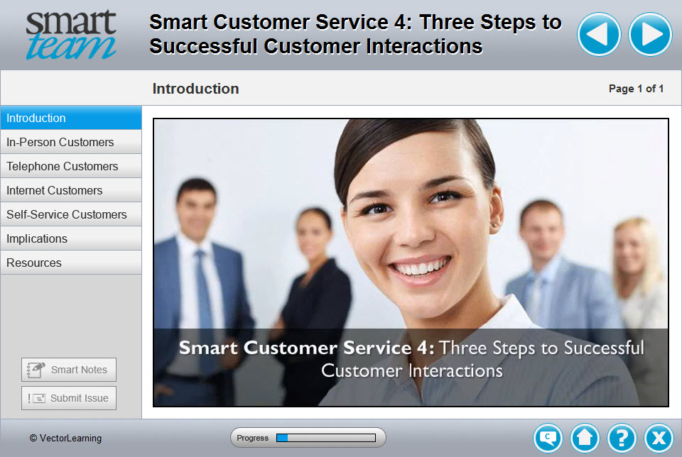 a comprehensive customer service program training course