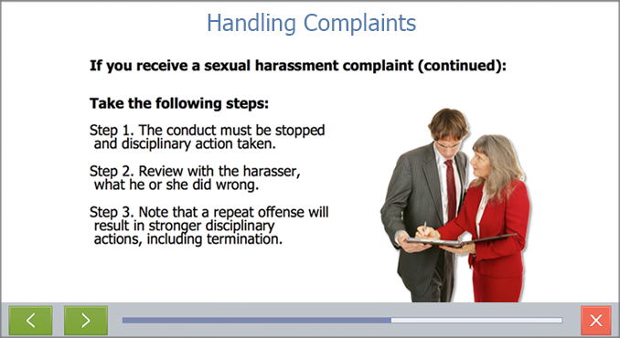 Sexual Harassment Training California