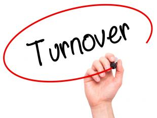 employee turnover types Employee turnover is calculated by dividing separations by the total staff: employee turnover = number of separations / average number of employees generally, it is stated as an annual percentage.