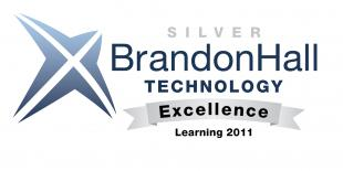 Brandon Hall Excellence in Learning Technology Silver Award