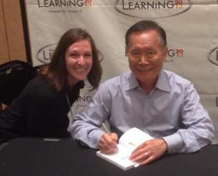 George Takei book signing