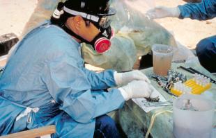 Working with hazardous materials