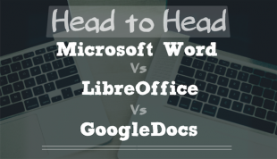 Head to Head: INFOGRAPHIC: Microsoft Word vs Google Docs vs
