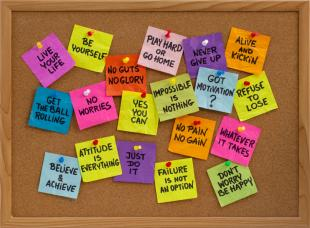 Motivational Sticky Notes