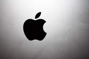 Apple image on the back of an iPad