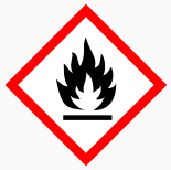 Flammable Label