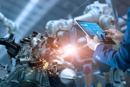 Predictive maintenance in manufacturing using IoT