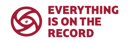 Everything is on the record