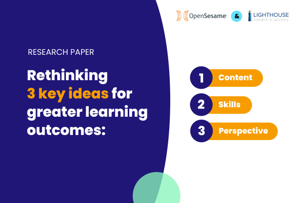 3 Key Ideas for Learning Outcomes